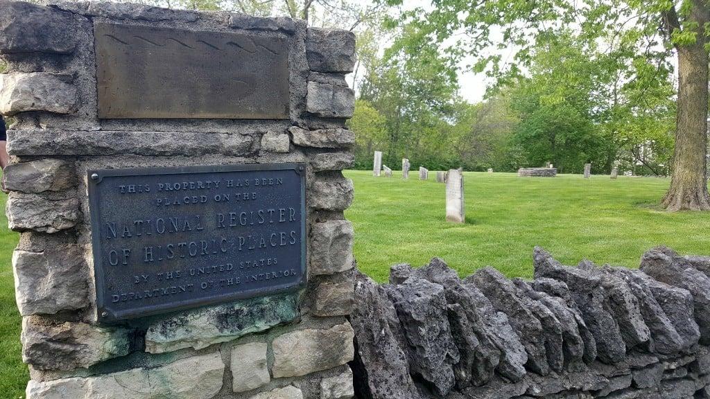 Indian Run Cemetery in Dublin