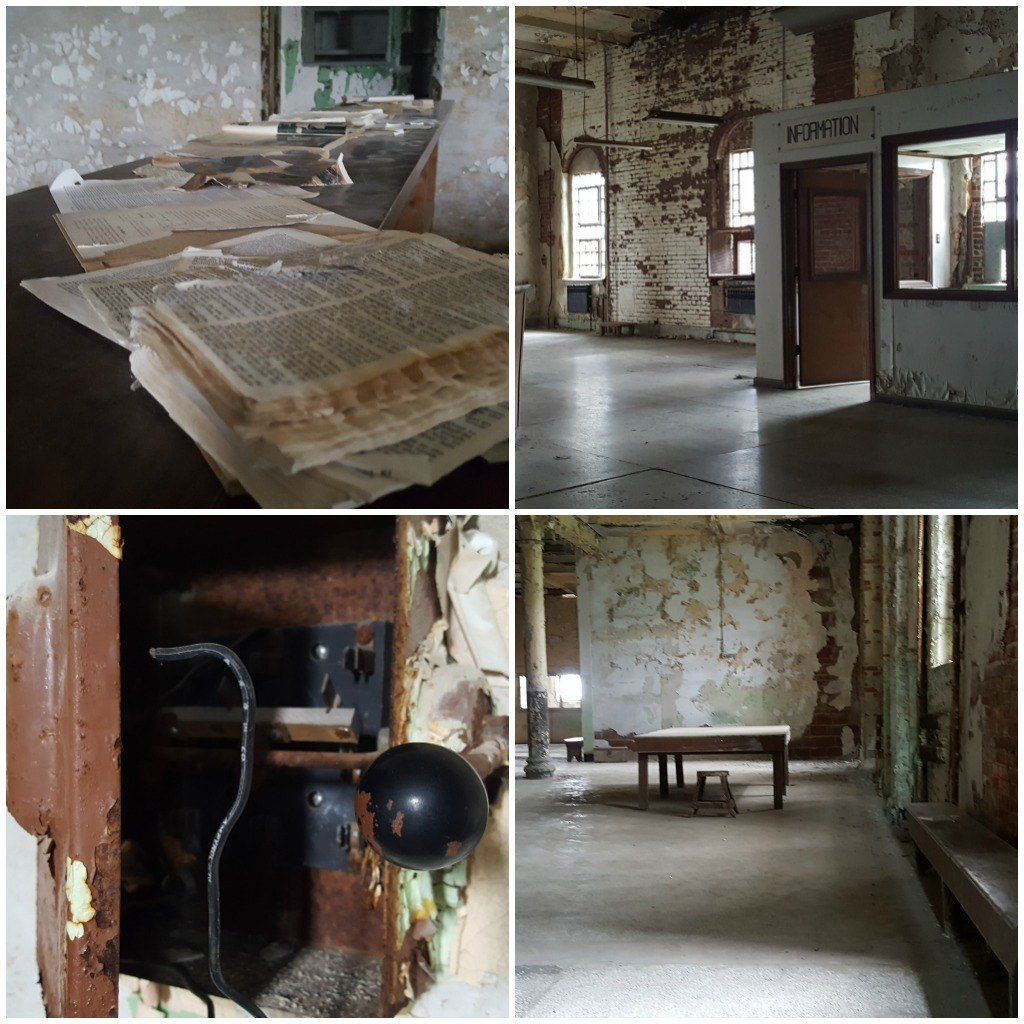 Library photos inside the Ohio State Reformatory