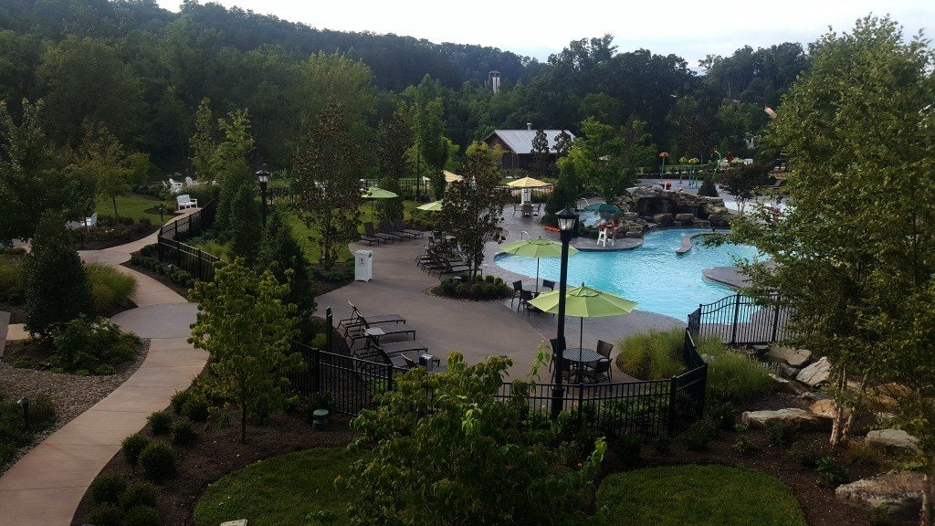 Outdoor Pool at Dollywood's DreamMore Resort and Spa