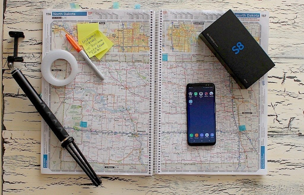 3 Favorite Travel Apps and a New Samsung Galaxy 8 to Use them On