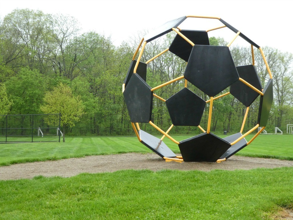 Soccer Ball on Dublin Arts Trail