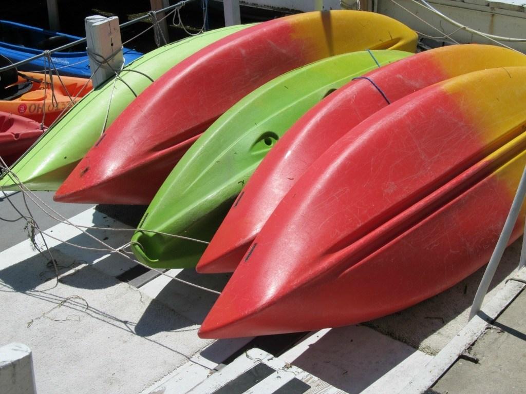 kayak on put-in-bay