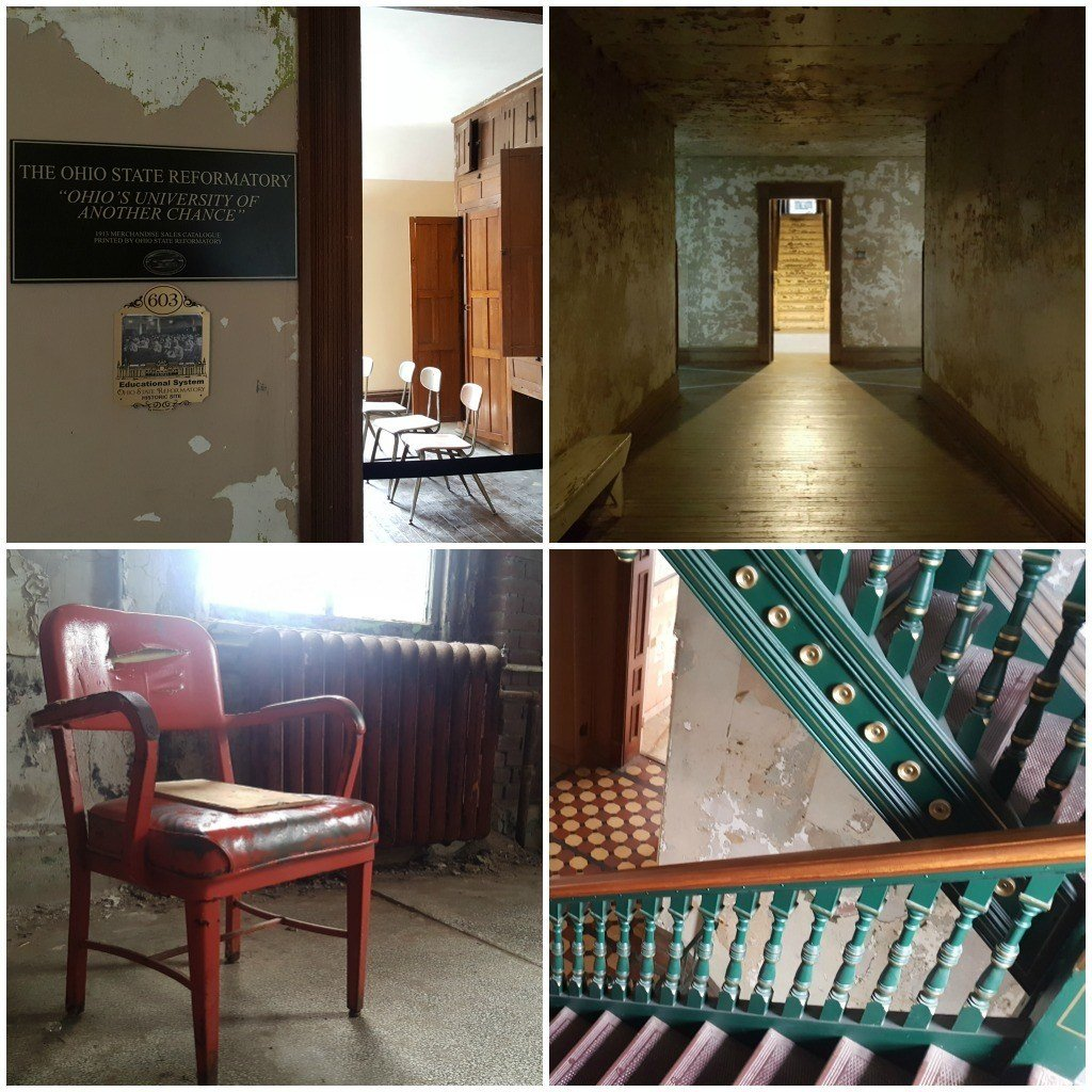 a glimpse inside the ohio state reformatory