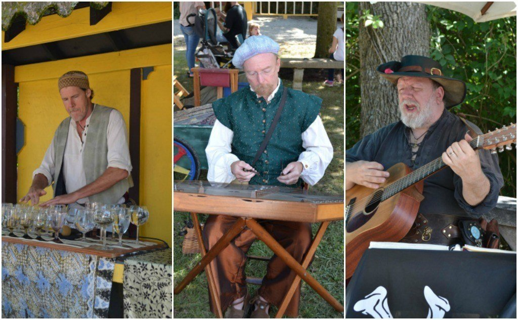 Musicians at the Renaissance Festival