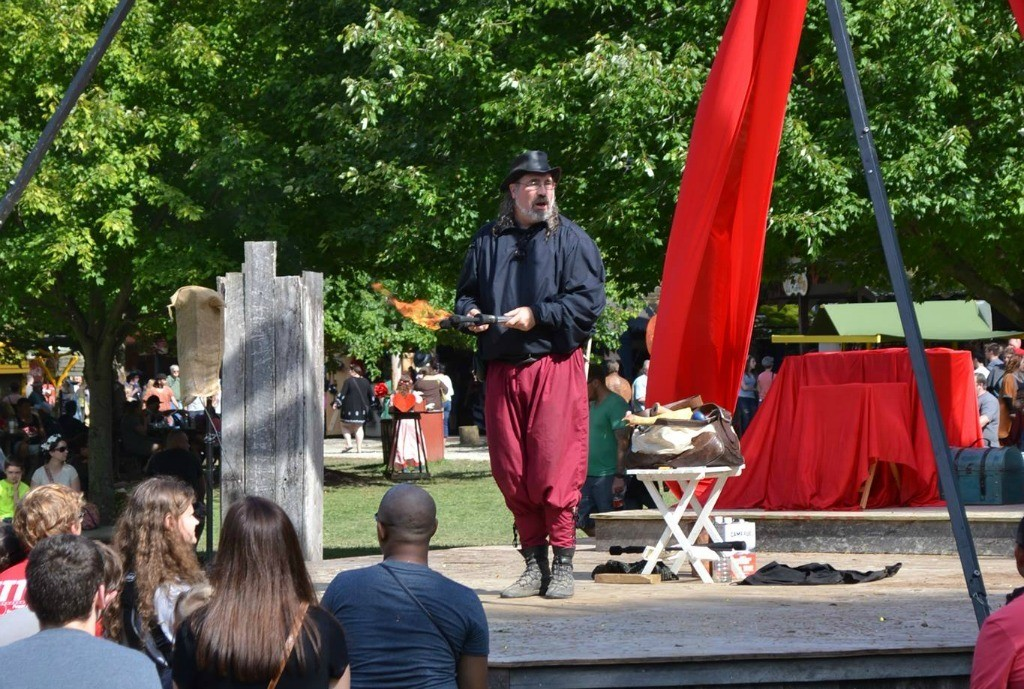 variety shows at the Renaissance Faire
