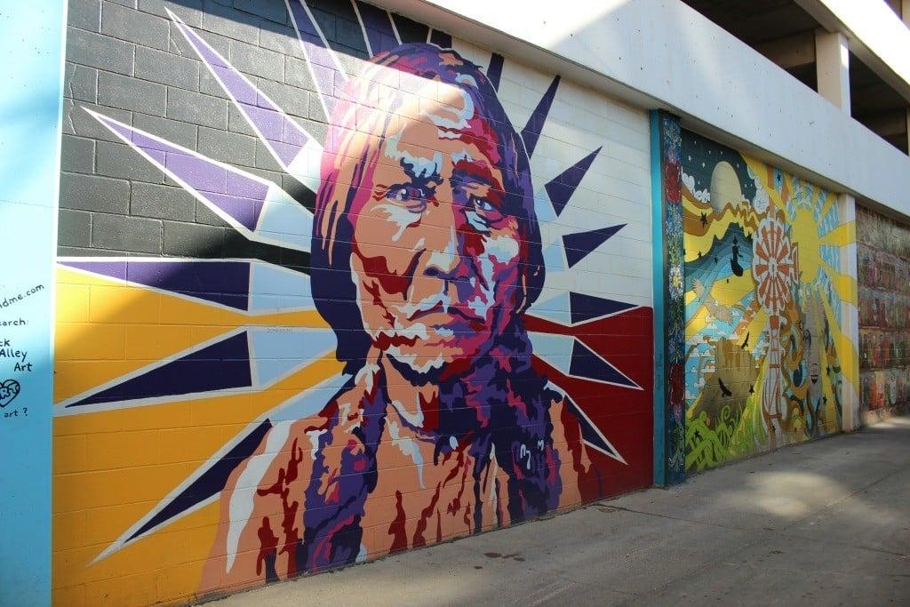 Art Alley in Bismarck