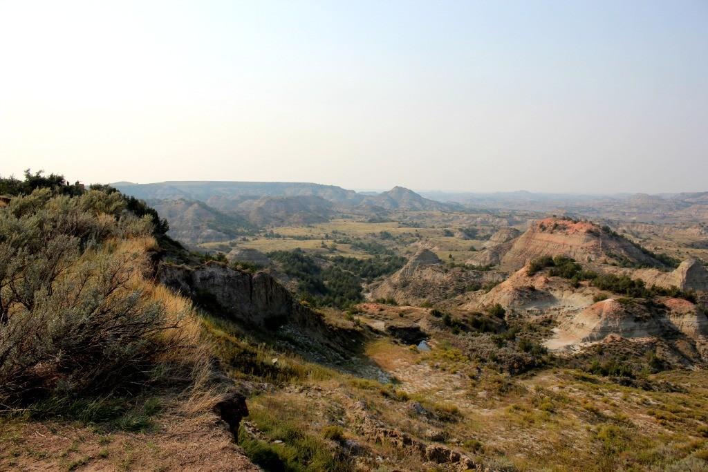 Badlands near Medora, North Dakota