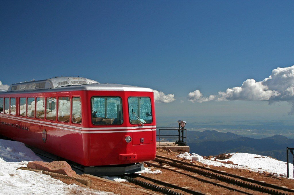 Pikes Peak railcar