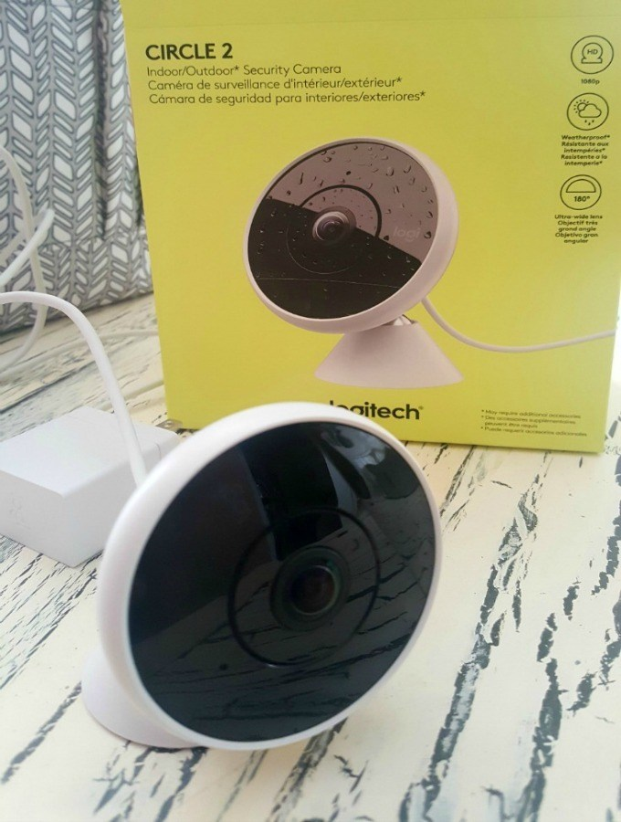 Protect your Home with Logitech Circle 2 for Peace of Mind when You Travel