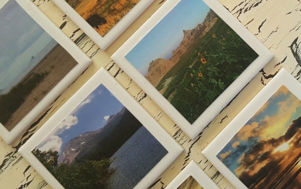 Final DIY Travel Photo Coasters