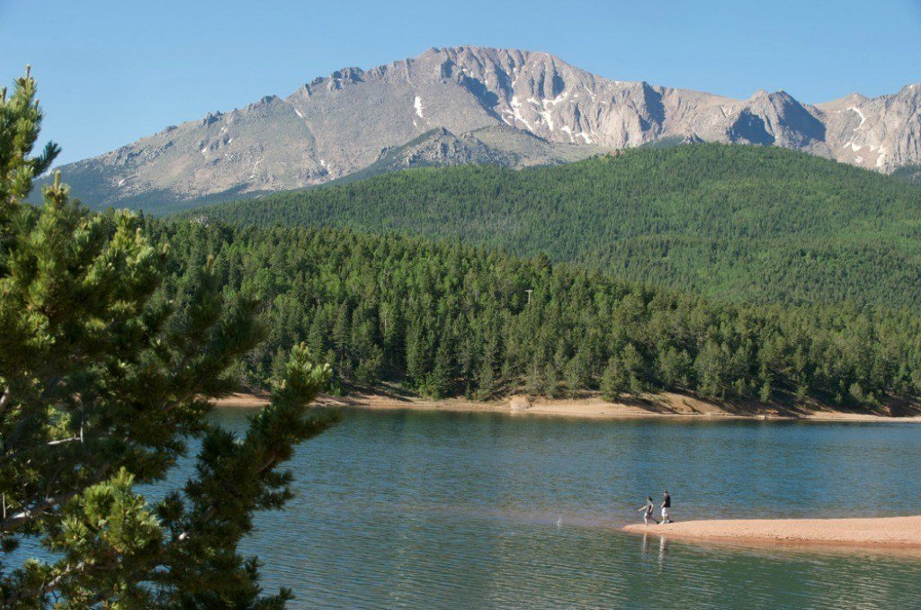 Pike's Peak with the Crystal Reservoir
