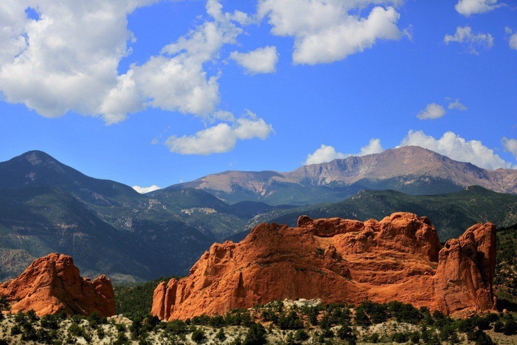 Pike's Peak with Garden of the Gods is located in Colorado Springs