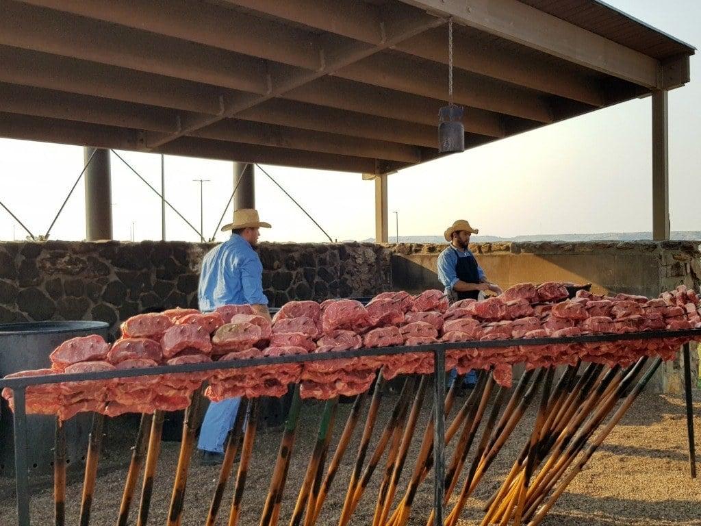 Pitchfork Steak Fondue in Medora