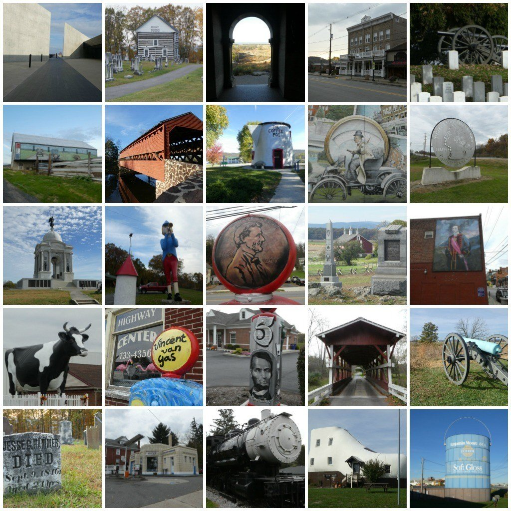 Sights to see in Pennsylvania