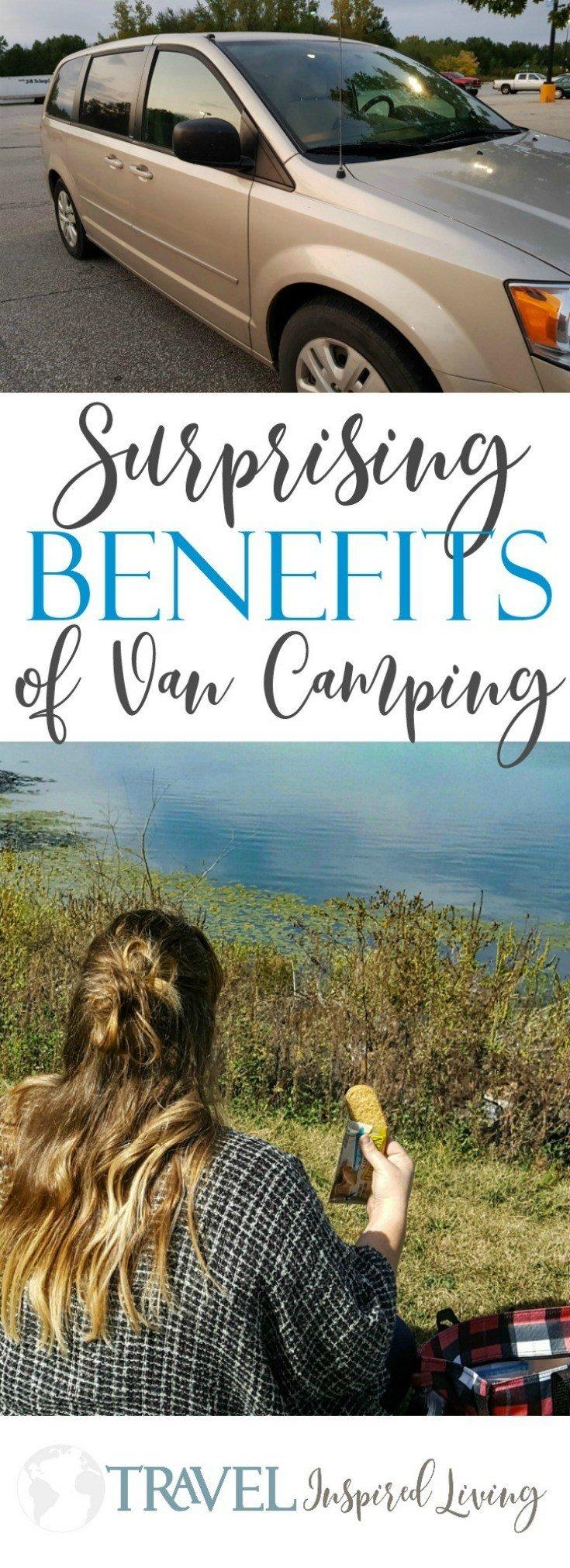 Surprising Benefits of Van Camping