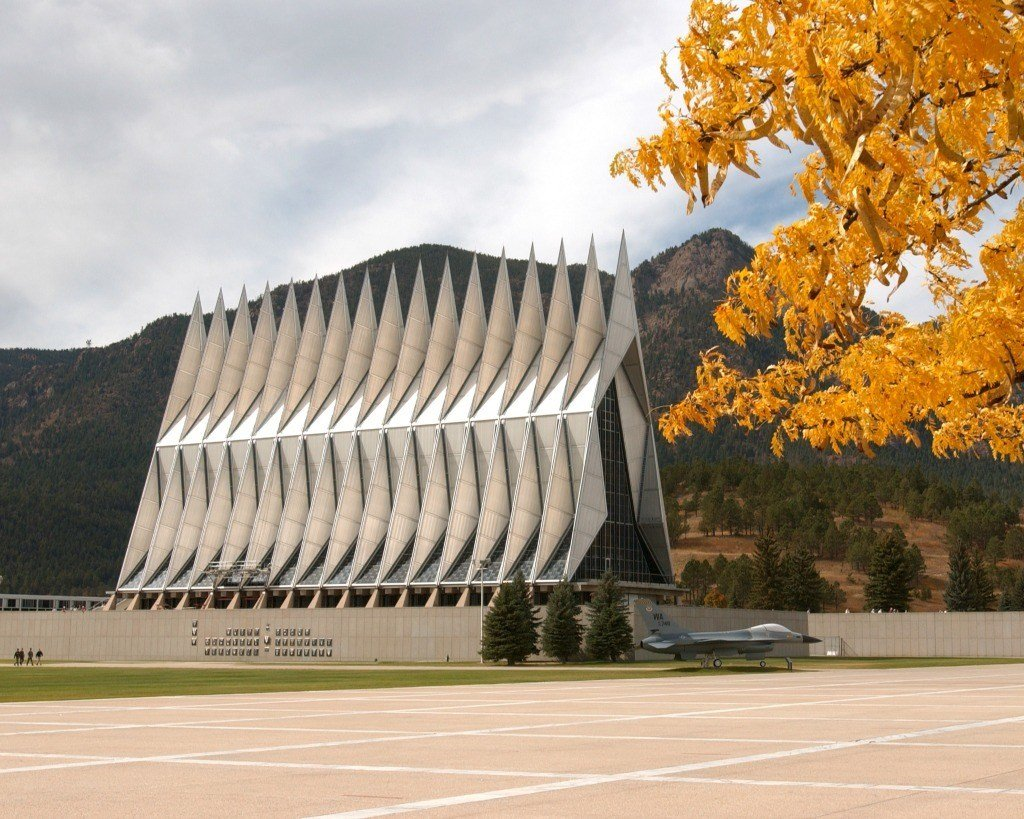 The Chapel at the US Air Force Academy