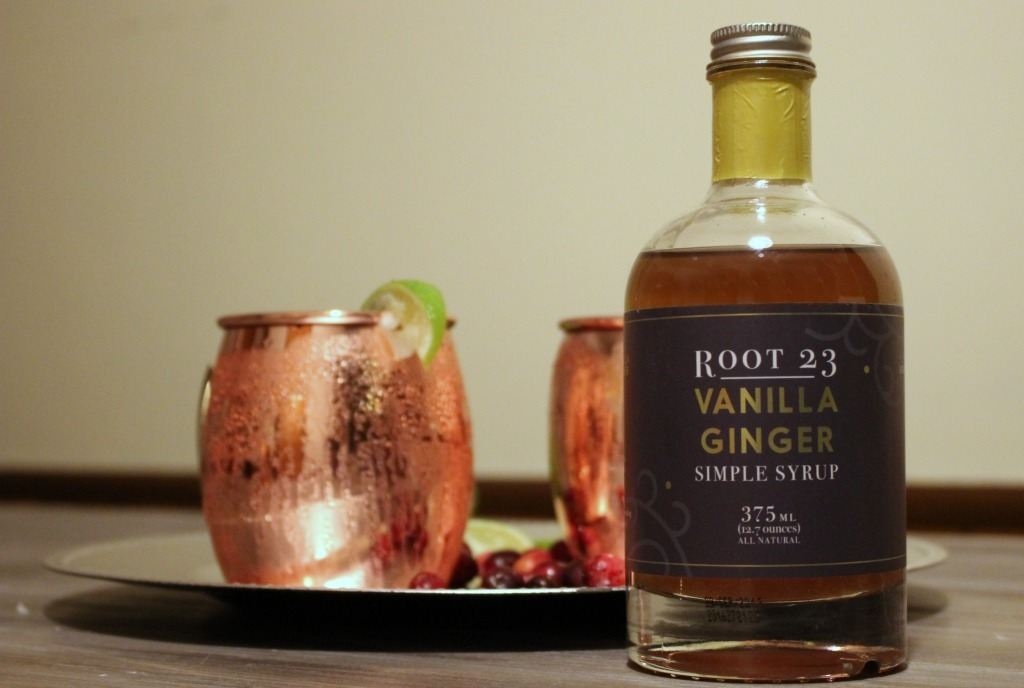 Create your own Moscow Mule Mocktail with Root 23 Vanilla Ginger Syrup