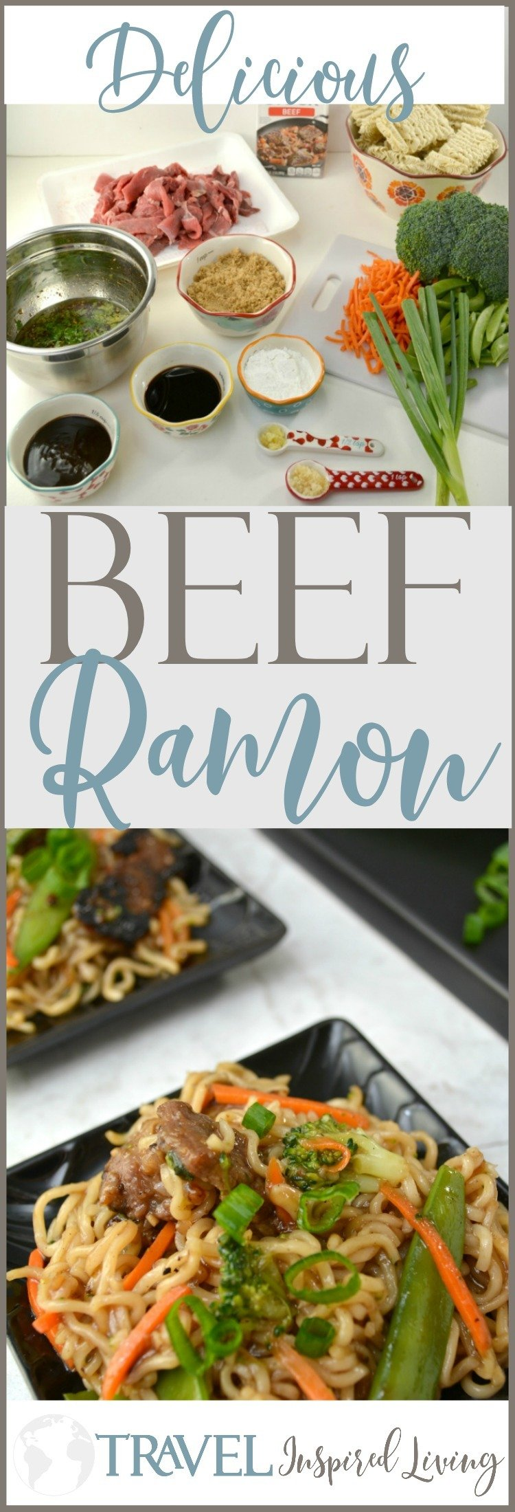 This recipe offers step-by-step directions for a delicious Beef Ramon that you'll crave over and over again.