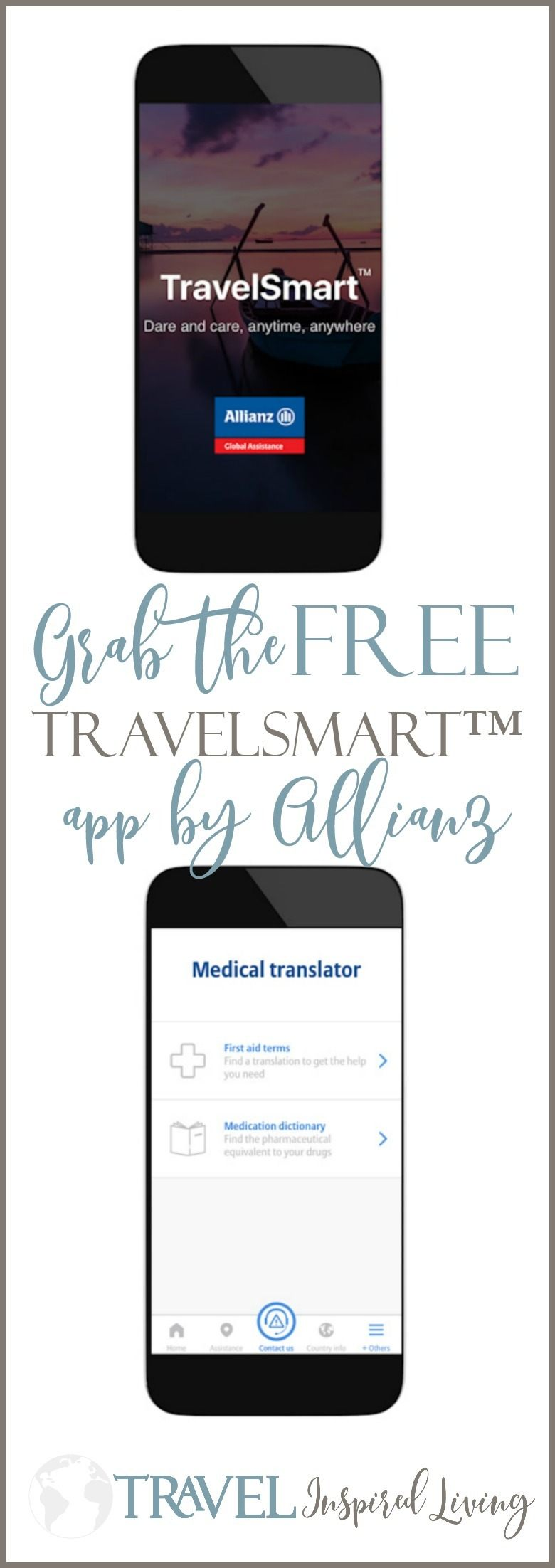 Grab the Free Allianz TravelSmart App