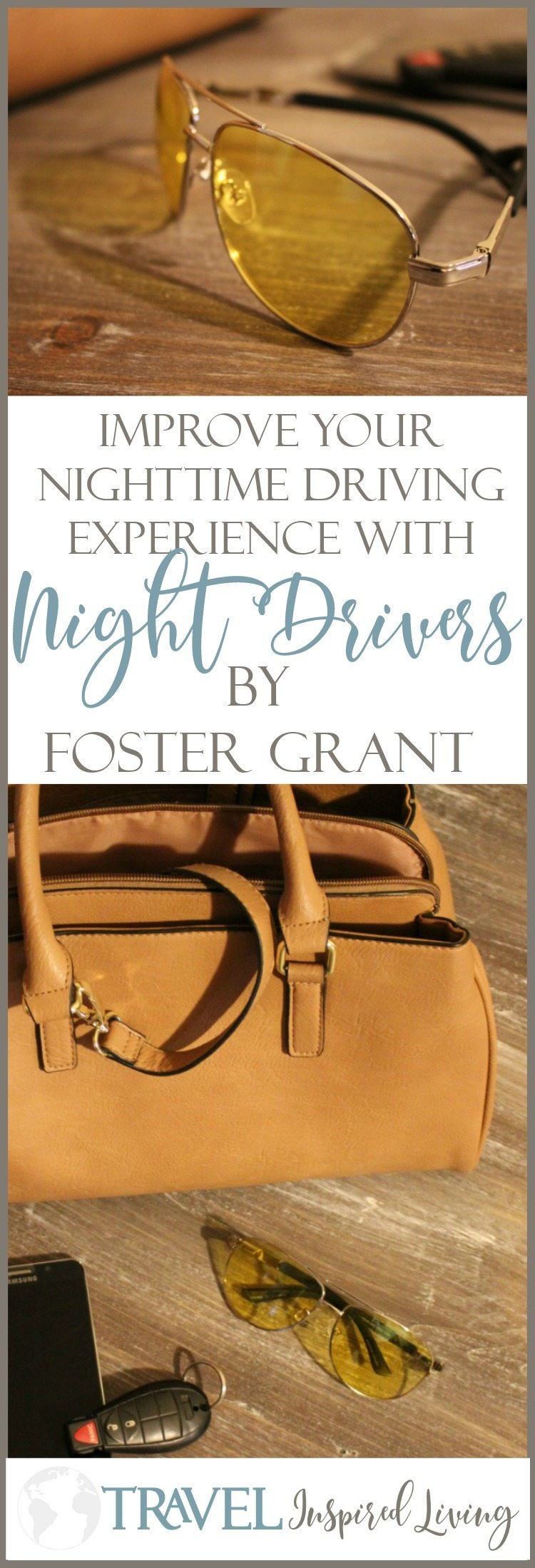 Improve your nighttime driving experience with Night Drivers by Foster Grant