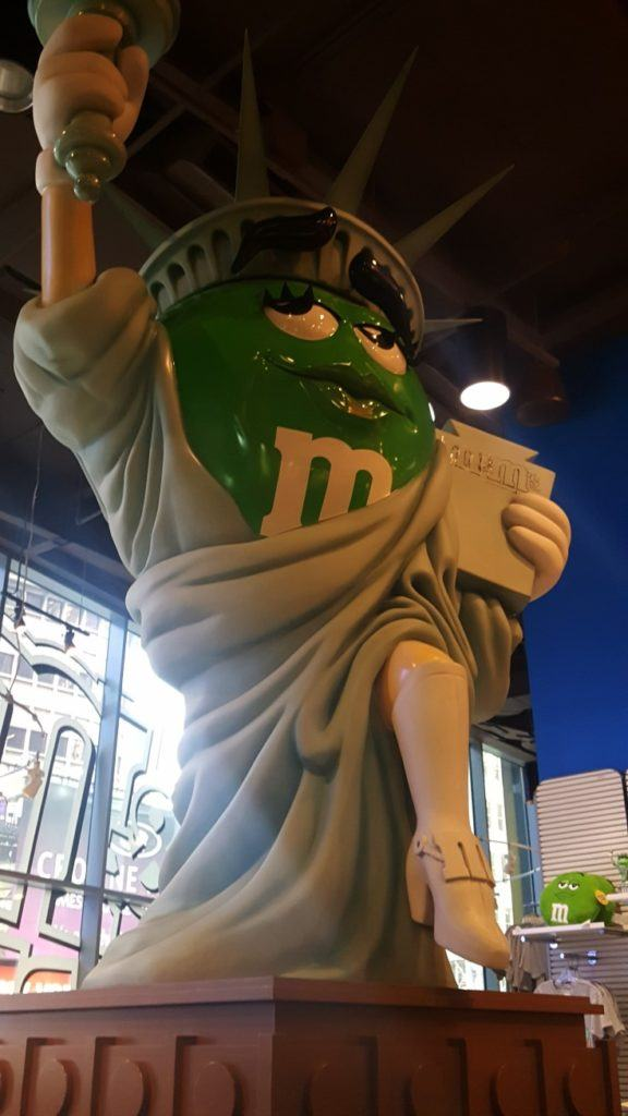 M & M Store in Times square