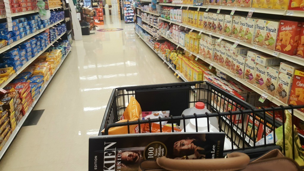 Shopping at Giant Eagle