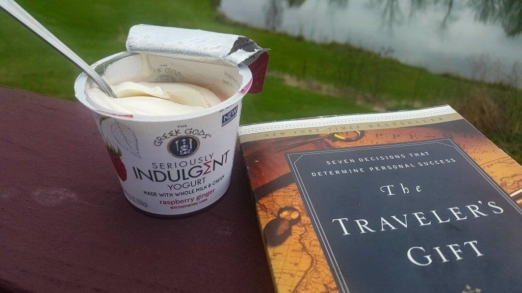 Taking a break with Seriously Indulgent Yogurt