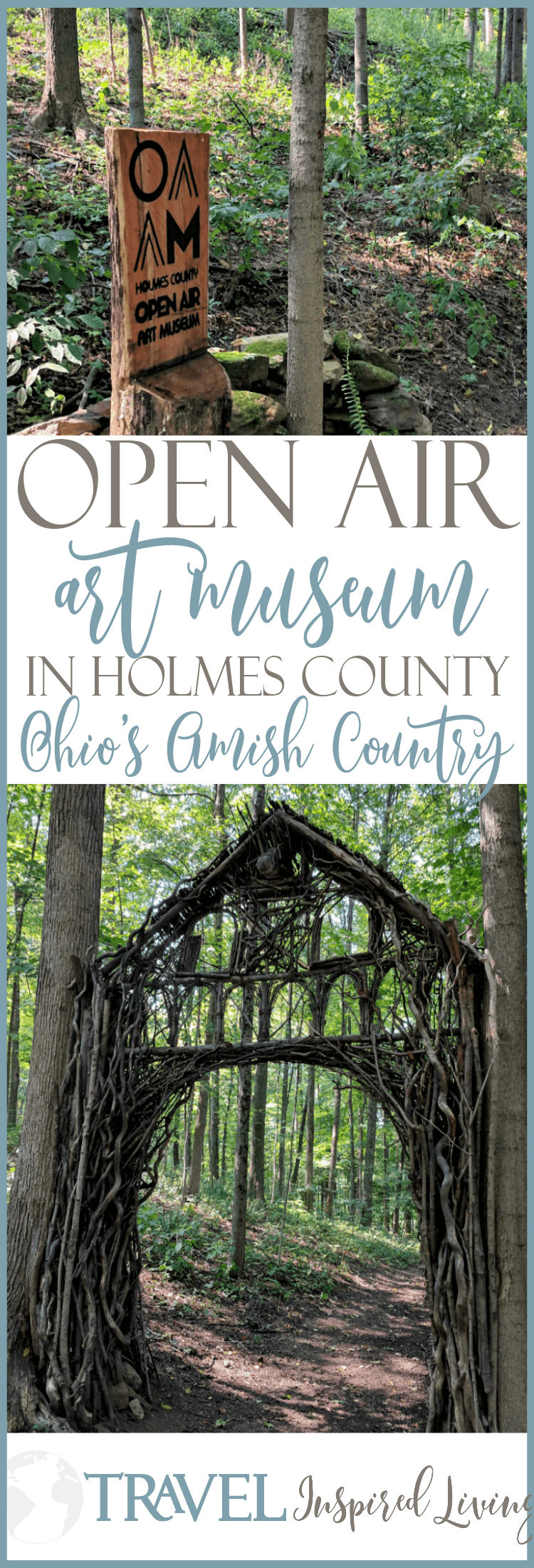 The Open Air Art Museum in Holmes County is in Ohio's Amish Country