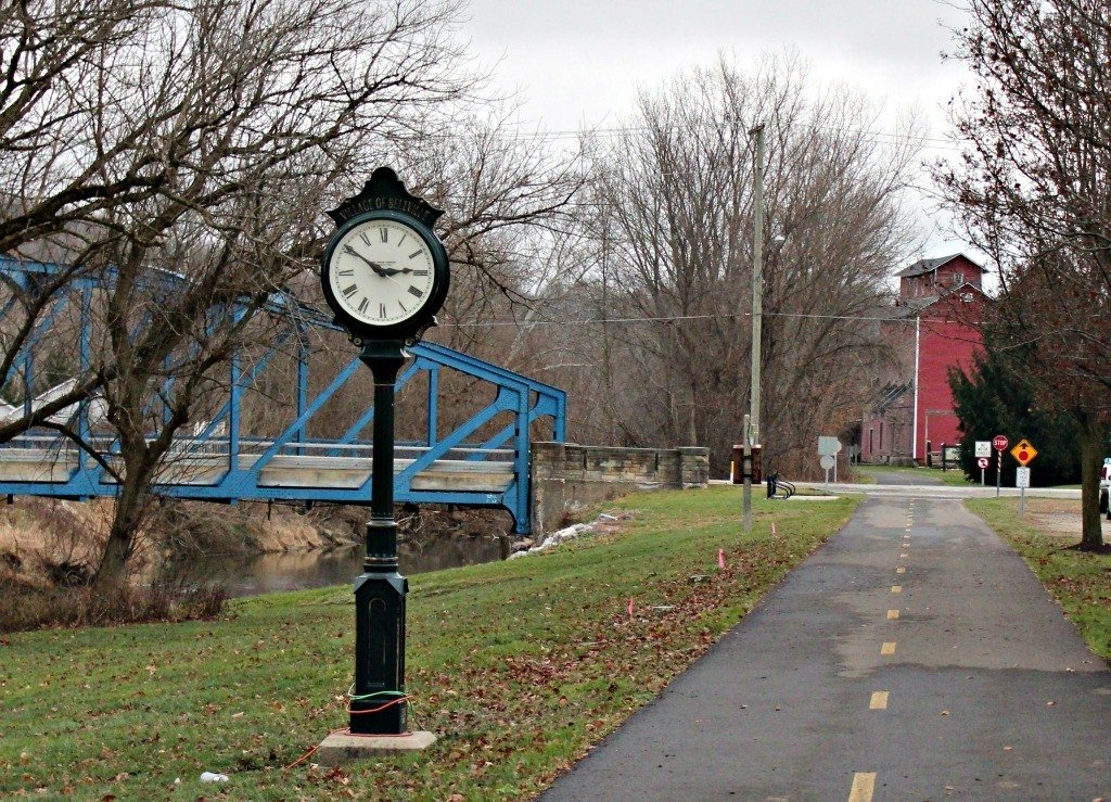 The Richland B & O Bike Trail