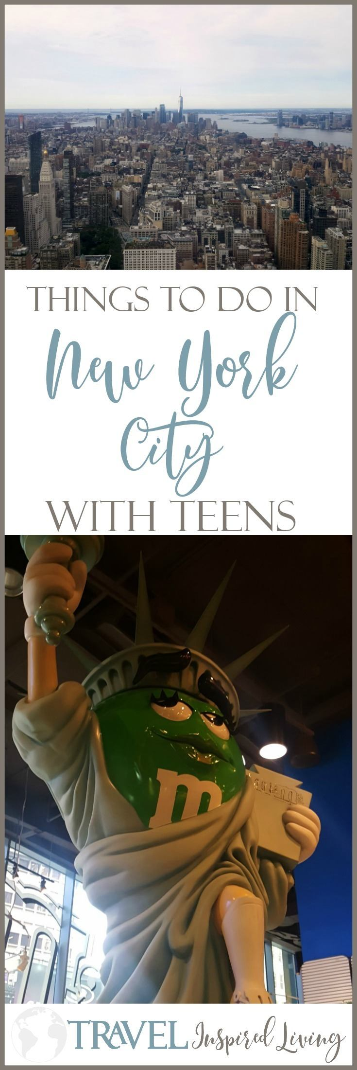Things to do in New York with Teens