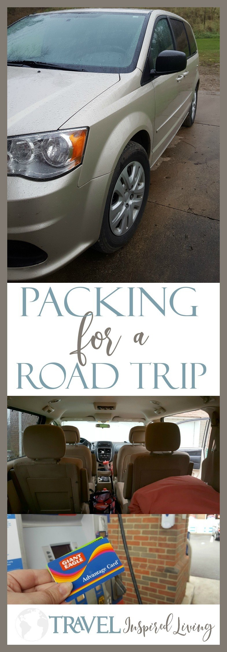 Tips for Packing for a Road Trip with a Free Printable. #GiantEaglePerks #ad