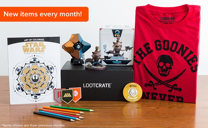 A Loot Crate is the perfect gift for the geek in your life.