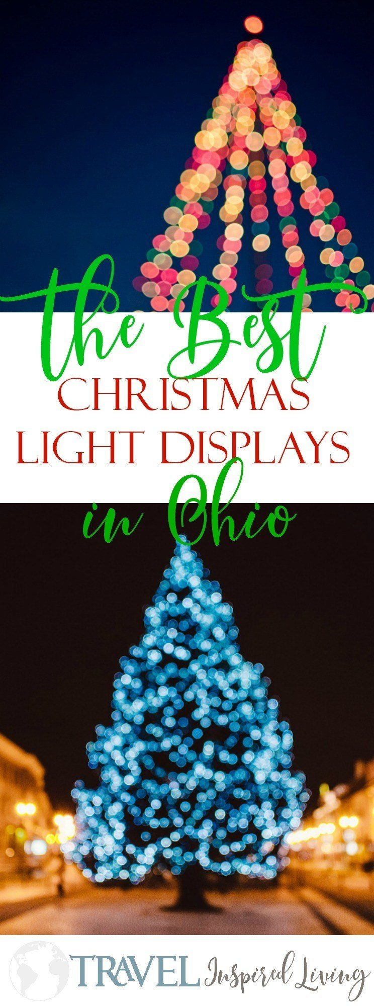 a list of the best christmas light displays in ohio