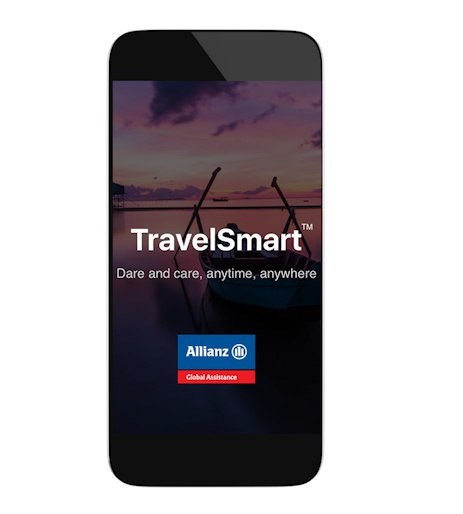 The Allianz TravelSmart app is free for users even if you don't have an insurance policy through them.
