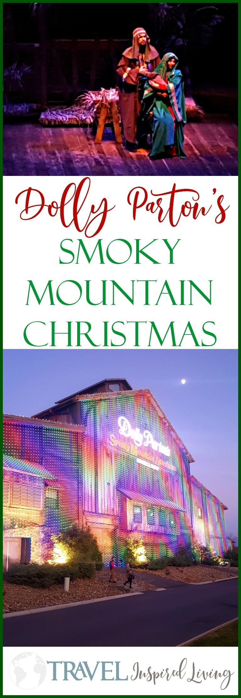 A Review of Dolly Parton's Smoky Mountain Christmas show in Pigeon Forge, Tennessee.
