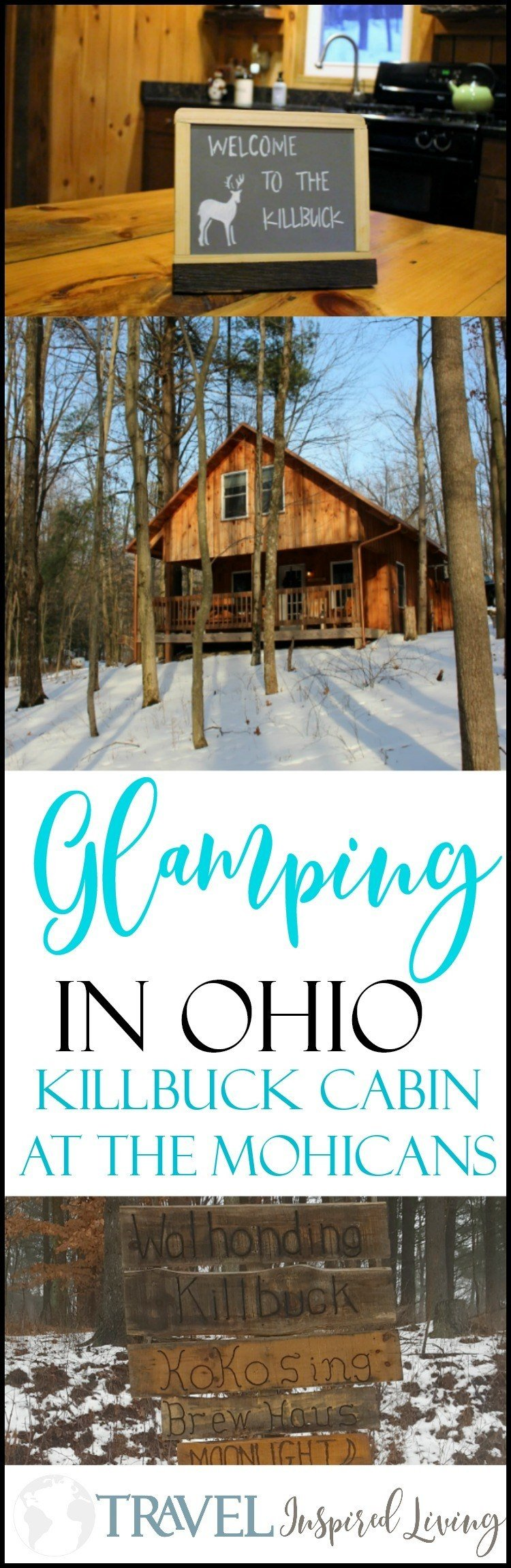 If you're looking for a destination where you can go Glamping in Ohio, consider a stay in the Killbuck Cabin at The Mohicans