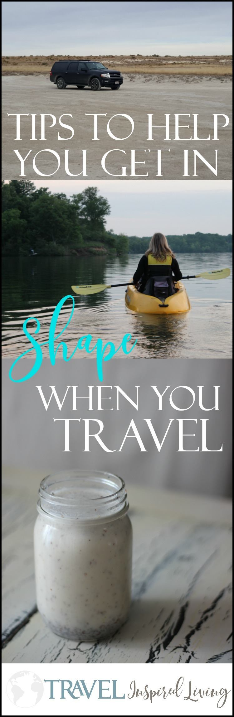 Tips to help you get in shape when you travel a lot