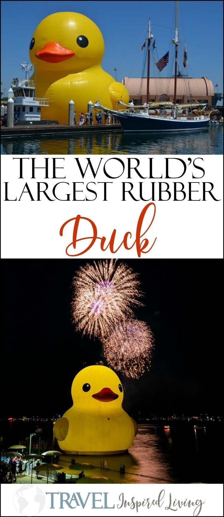The World's Largest Rubber Duck is headed to Sandusky, Ohio during the Festival of Sail from July 12th-15th, 2018.