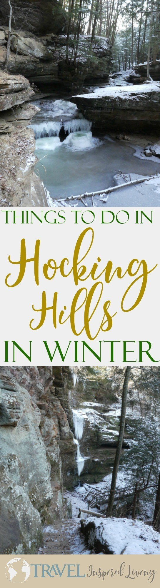 Today I'm sharing things to do in Hocking Hills during the winter from festivals, to winter hiking tips and more.