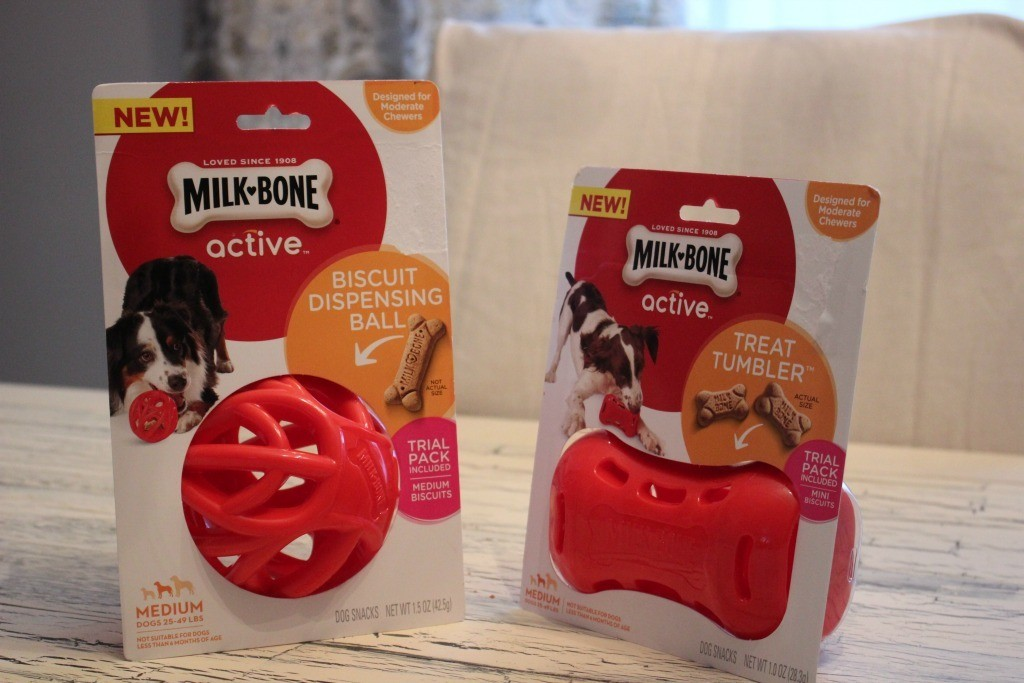 Milk-Bone Active toys stimulate your dog