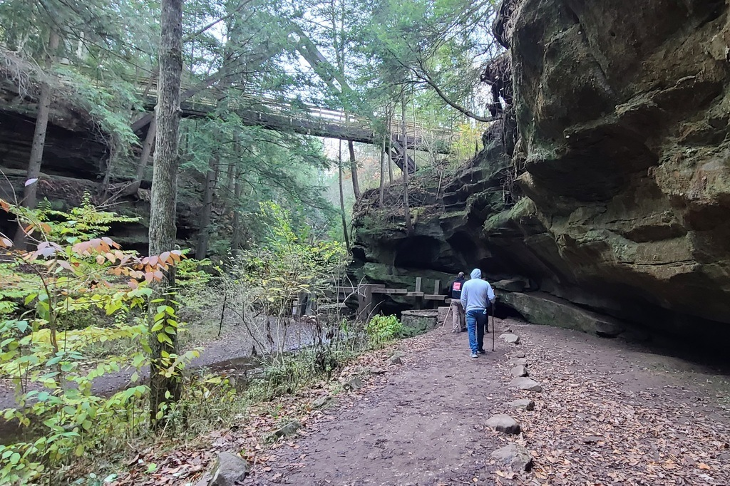 Hocking Hills is a very scenic area