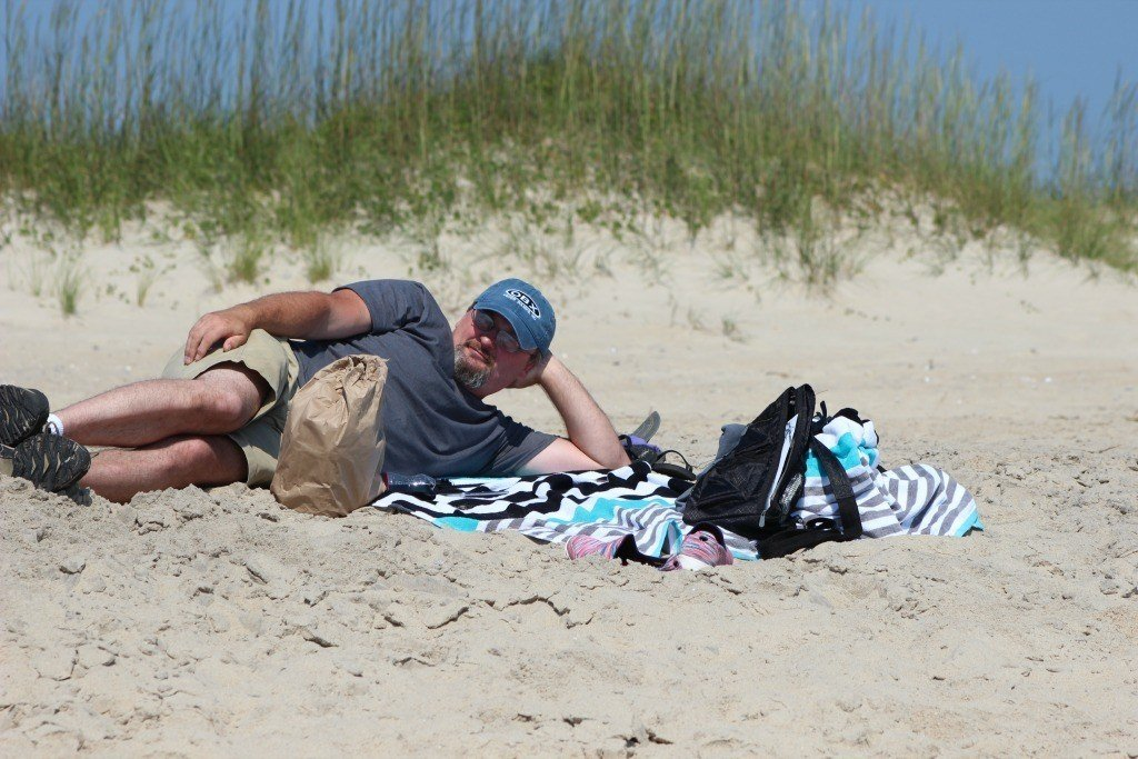 Enjoy the beaches on the Outer Banks