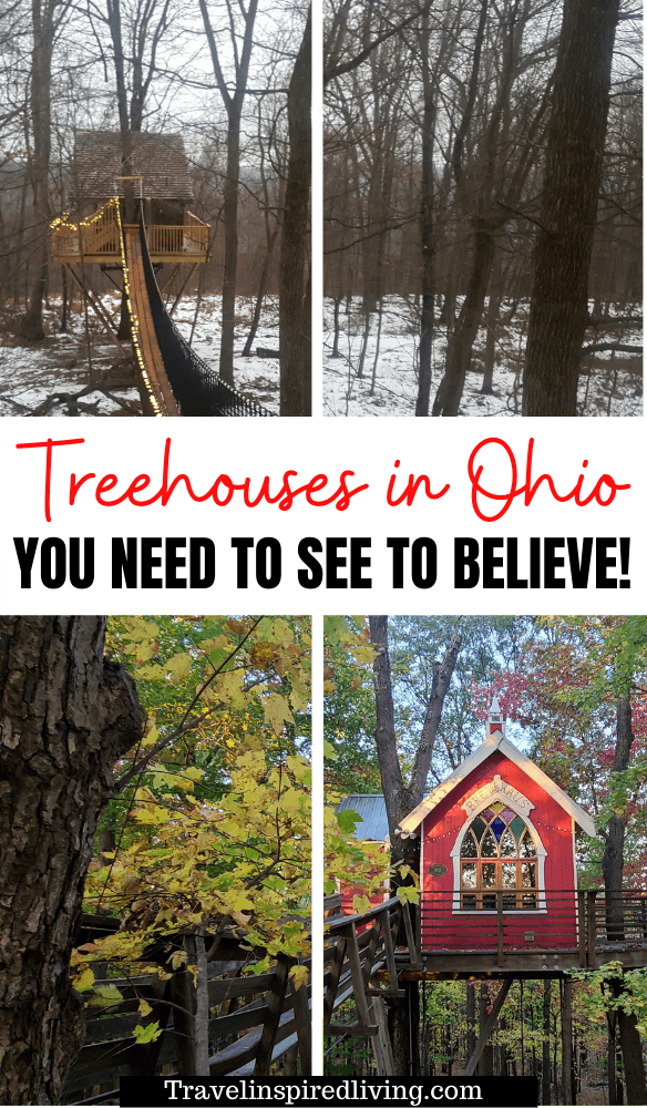 Treehouse cabins in Ohio that you can rent