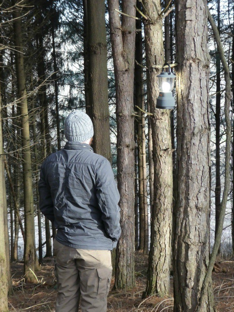 Hiking with the EcoSurvivor lantern