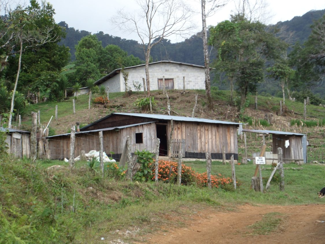 A store in an Honduras mountain village