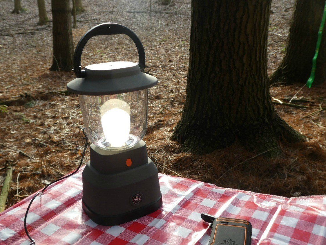 The Ecosurvivor Lantern was built for adventure