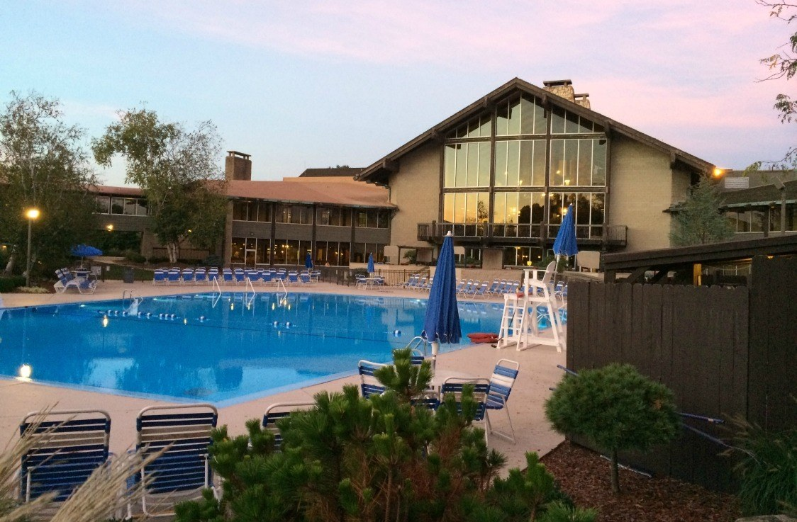 The Lodge in Salt Fork State Park in Cambridge allows access to the great outdoors for those who want to immerse themselves and a lovely pool for those that don't.