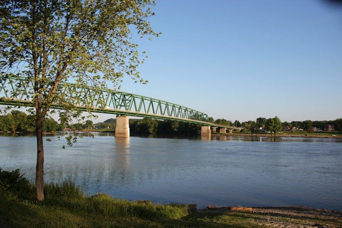 Along the Ohio River in Marietta