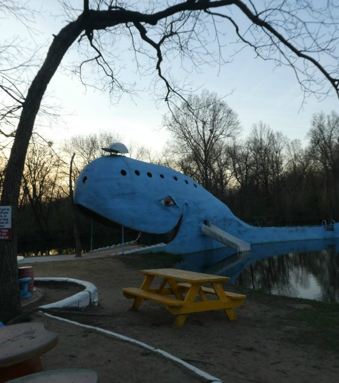 The Blue Whale of Catoosa on Route 66