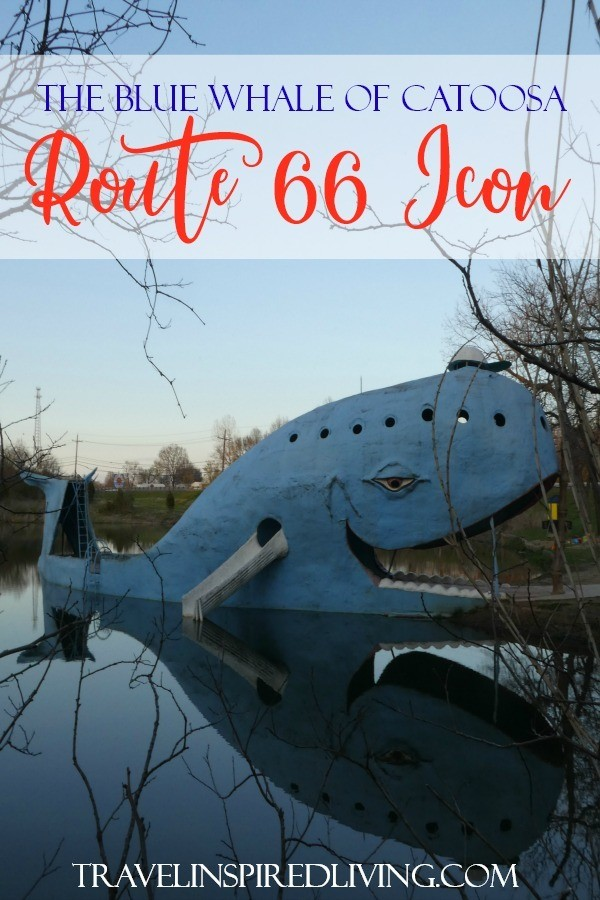 The Blue Whale of Catoosa is a Route 66 icon located just outside of Tulsa, Oklahoma. This free attraction welcomes hundreds of visitors each week.